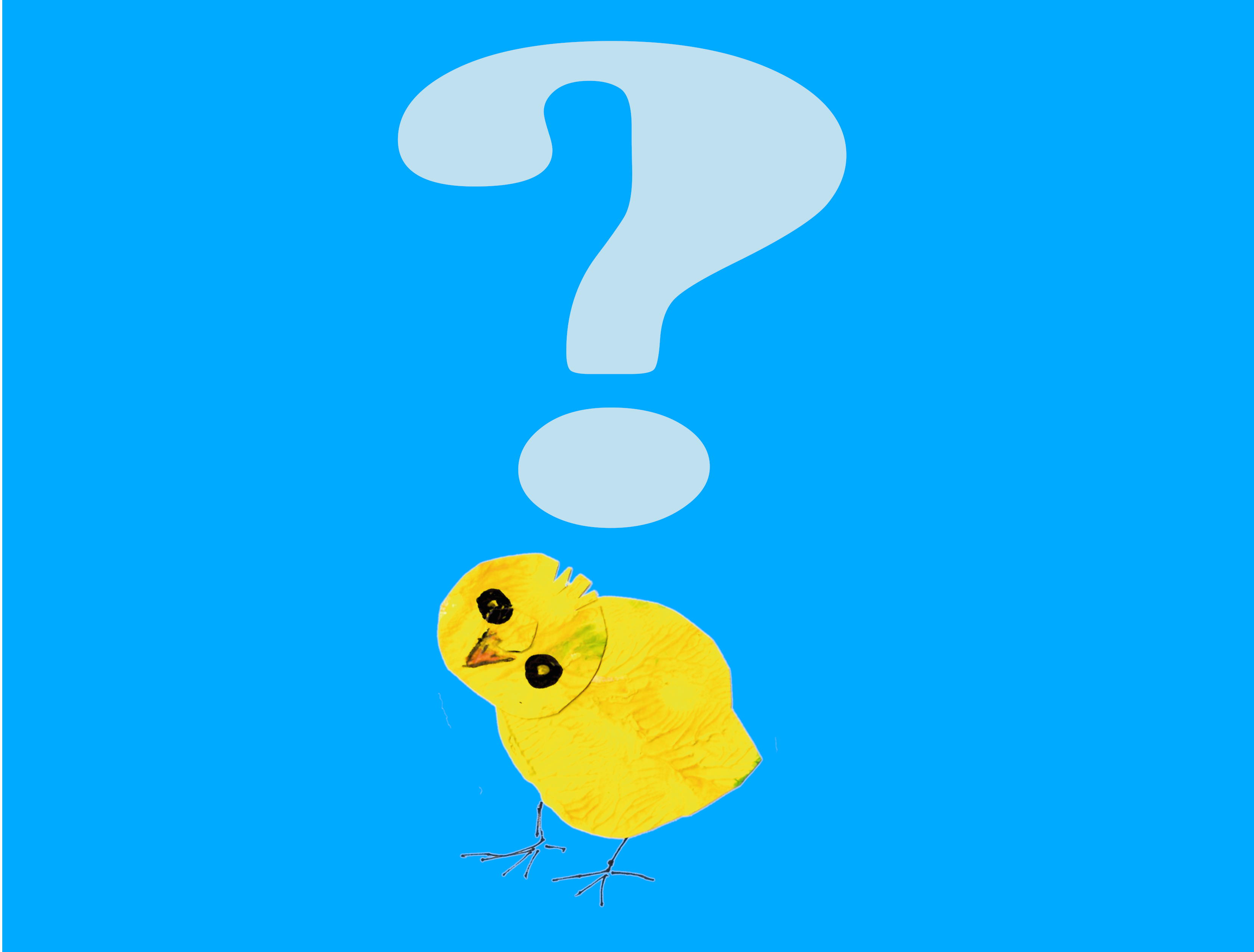 Was macht das gelbe Küken?