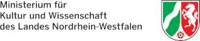 Logo des Ministeriums fuer Kultur und Wissenschaft des Landes Nordrhein-Westfalen